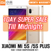 [ONLY 1DAY][Free Warranty] Xiaomi Mi5s / Mi5s Plus 6GB 128GB Snapdragon 821 4G LTE Smartphone 5.7 Inch Screen 2*13MP camera Quick charge 3.0