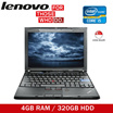 Refurbished Lenovo ThinkPad X201(Core i5 1st /4GB RAM/ 250GB HDD)/ X220 (Core i5 2nd/4GB/320GB HDD)/ X230 (3rd Gen i5/4GB RAM/320GB HDD) Windows 7 /One Month Warranty