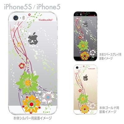 【iPhone5S】【iPhone5】【Vuodenaika】【iPhone5ケース】【カバー】【スマホケース】【クリアケース】【フラワー】 ip5-21-ne0031caの画像