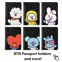 [Re-stocked!] Click for many BT21 items