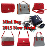 [Made In Korea] Red Color Bags / Mini Shoulder Women Handbag Cross Body Messenger New Tote Bag Satchel Purse Womens S Fashion Small Bag