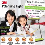[Official E-store] 3M Polarizing Task Light LED6000 - Study Lamp / Anti-Flicker Light / Reading / Energy Saving / Exam / Cool White Light Bulb / Safety Mark / Green or Hot Pink