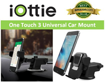 iOttie Easy One Touch 3 / 2 ★Redefine the way U MOUNT your phone!★ [NEW! AMAZON BEST SELLER!!] ***Made in Korea*** 100% Authentic ~ Premium Luxury Car Mount