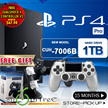 New PS4 1 TB Pro Console + 1 More Controller. Increased Power Intense Graphics.Faster, Smoother Stable Frame Rates. Free OTVO Controller Charging Stands. Local Stocks n Warranty!