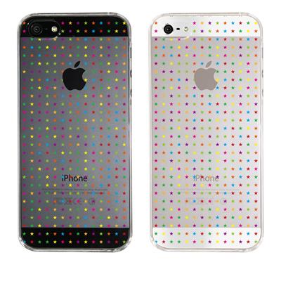 【iPhone5S】【iPhone5】【iPhone5ケース】【カバー】【スマホケース】【クリアケース】【スタードット】 ip5-22-ca0011の画像