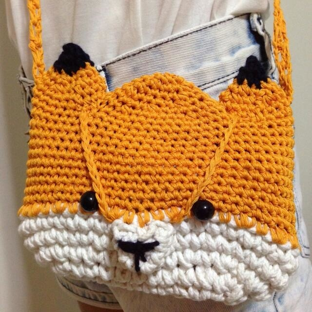 Crochet Bag For Kids : Qoo10 - Cute handmade crochet bag for kids : Kids Fashion