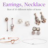 [JUDY AND PAUL]★Ear Studs★Necklaces★ New ARRLS/Necklace/ Ear Rings / Bracelet / Rings / Elegant Designs / Trendy / High Quality / Fashion /Accessories /B2C16_2065