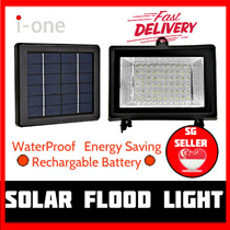 Solar Light 60 LED Outdoor Weatherproof Garden Flood Lights Bright Energy Saving LEDs Automatic