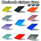Hot newest!Apple Notebook Computers Matt Rubberized Translucent Hard Case Cover Protective Sleeve for Macbook Air 11.6 13.3/Pro 13.3 15.4/Retina 13 15 inch Fashion Exquisite Frosted Cover Case