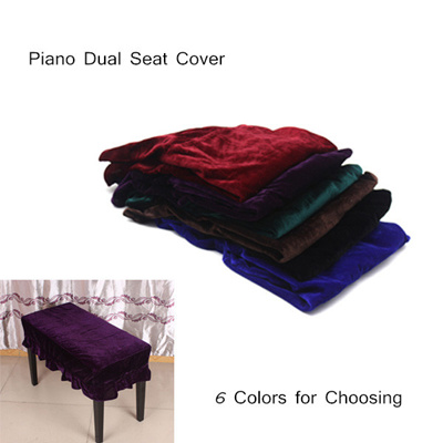 Qoo10 Piano Stool Chair Bench Cover Pleuche Decorated With Macrame Universal Toys