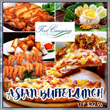 YWCA (Fort Canning Lodge) Asian Lunch Buffet Daily