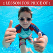 Kids Swimming Class [$17.50/Two Classes] For 5 to 14 Years Old. Get A Free Swimming Cap!