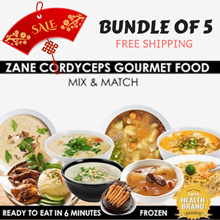 🌿 Bundle of 5 🌿 Cordyceps Gourmet Food | Ready To Eat | Health Inside Out | FREE Shipping