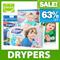 ◄ DRYPERS ► Wee Wee Dry ► Drypantz ★ BEST BUNDLE DEAL ★ Size S/M/L/XL/XXL ► Tape/Pants ► Size L/XL/XXL