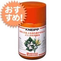 クナイプ KNEIPP バスソルト メリッサ 850gクナイプ/KNEIPP/バスソルト/芳香浴/入浴剤/岩塩/精油/ハーブ/メリッサ/850gの画像
