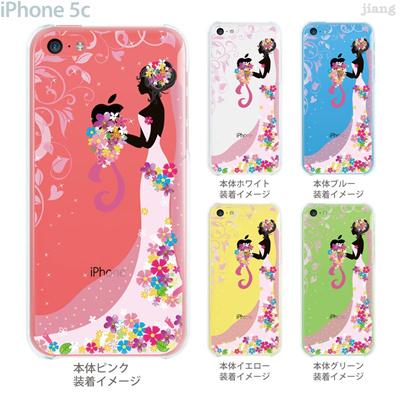 【iPhone5c】【iPhone5cケース】【iPhone5cカバー】【iPhone ケース】【クリア カバー】【スマホケース】【クリアケース】【イラスト】【フラワー】【ウエディング】 22-ip5c-ca0110の画像
