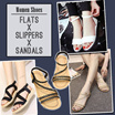 [$9.90 Flat Price] ★Flats sandals Ankle Sandals★Women shoes★Women Slippers★