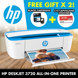 Photo and Document All-in-One PrintersHP DeskJet 3720/3721 All-in-One Printer