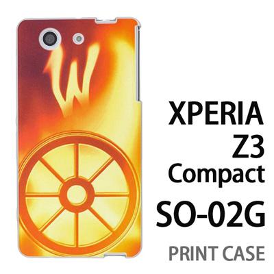XPERIA Z3 Compact SO-02G 用『No1 W 光り輝くタイヤ』特殊印刷ケース【 xperia z3 compact so-02g so02g SO02G xperiaz3 エクスペリア エクスペリアz3 コンパクト docomo ケース プリント カバー スマホケース スマホカバー】の画像
