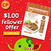 [CP Food] Fellower Special! $1 per pack. Sliced Pork with Ginger Sauce 250g (Frozen)