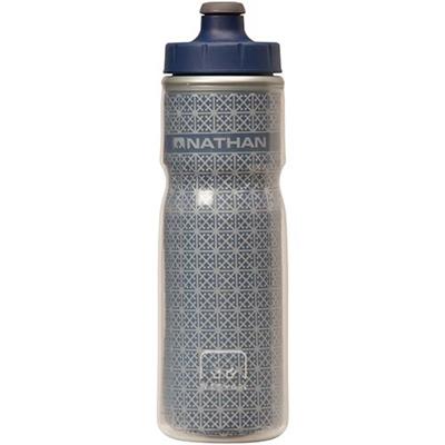 ネイサン(NATHAN) FIRE&ICE600mlボトル B61531000 ESTATEBLUE 【ランニング ジョギング ナイトラン アクセサリー 水分補給ボトル】の画像