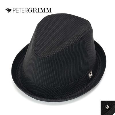 ピーターグリム PETER GRIMM ユニセックス 中折れハット/帽子 ストライプ Mala PGF3209の画像