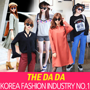 ★ Korean Fashion ★ The Da Da ★ Hot sale!new arrivals ★ F/W Fashion in the long section T-Shirt Loose Dress / plus size