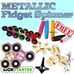 Fidget Spinners Super Sale-Buy 2 Get 2 MOKURU or Class Spinners Free (min 2)-ANTI RUST and DURABLE