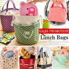 [BUY 2 FREE SHIPPING] Sales  Promotion! Picnic Lunch Bag / Thermal insulation Bag / Tote bags/ Floral/Stripe Picnic Bags/ Keep warm cold Bags/ Lunch Pouch / For travel/school/work/Best Gift!