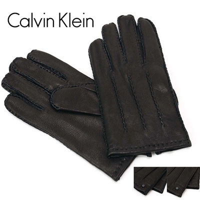 カルバンクライン Calvin Klein(CK) メンズ レザーグローブ/手袋 2977223の画像
