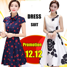 12.12promotion Korean style dress/Long sleeve Dress/Sleeveless Short sleeve/OL/Occupation Casual Dress/Little girl/Work Office Dresses/Pop/ fashion/high quality/Suit