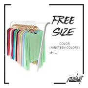 Irregular solid cardigan KZ1501-1#