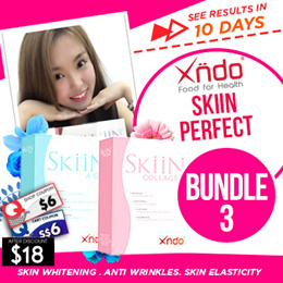 [1+1] [ Special $9.90 Deal]  Xndo Skin Perfect - Skiin Whitening