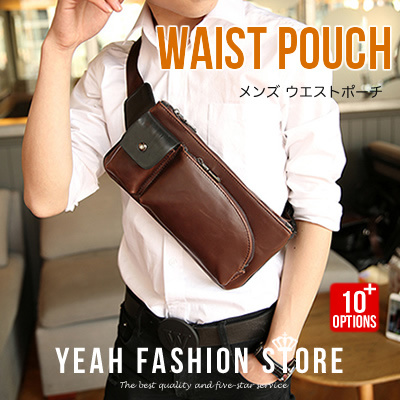 High Quality Cowhide Business sling Bags For Men Briefcase Leisure Bags Handbags Tota Bags Leath Deals for only S$50 instead of S$0