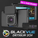 [Super Deal!!]BLACKVUE DR750LW-2CH (16GB) Front  Rear Full 1080P + LCD Sreen