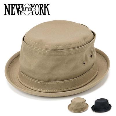 ニューヨークハット New York Hat アメリカ製 3014 コットンキャンバス ポークパイハットの画像
