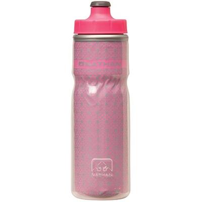 ネイサン(NATHAN) FIRE&ICE600mlボトル B61532000 HI-VIZPINK 【ランニング ジョギング ナイトラン アクセサリー 水分補給ボトル】の画像