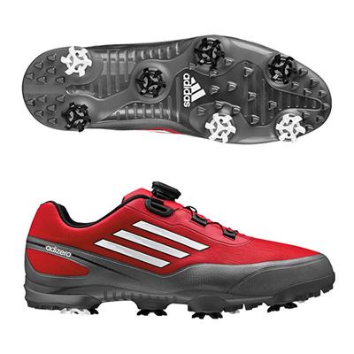 アディダス (adidas) adizero prime Boa WD(ボールドレッド×ホワイト) Q44715 [分類:ゴルフシューズ スパイク (メンズ)] 送料無料の画像