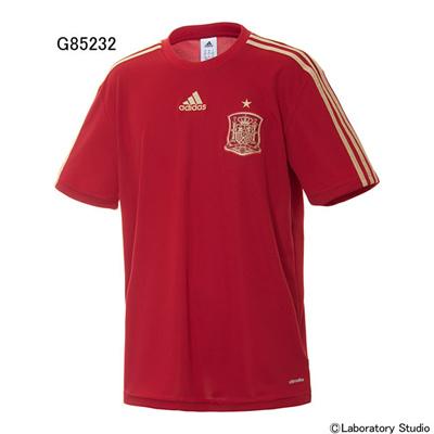 アディダス (adidas) スペイン代表 ホームレプリカTシャツ AD718 [分類:サッカー レプリカウェア (海外代表・海外クラブチーム)]の画像