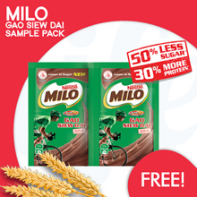 [NESTLE] Milo Gao Siew Dai free samples up for grabs! 【ADD ON TO ANY ORDERS】