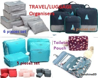 MEGA SALE Travel Organiser*NO OPTION PRICE*Luggage Organiser*Bag-in-Bag Organiser*Bigger Version * Deals for only S$29.9 instead of S$0