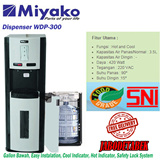 MIYAKO Dispenser Gallon Bawah WDP300 - 420Watt Free Ongkir Only JABODETABEK