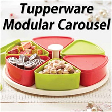 SG Seller ★Authentic Tupperware★ Modular Carousel Gifts Food Container CNY Hari Raya Xmas