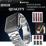 Apple Watch Tempered Glass/Leather Watch Band/TPU Case/iWatch/Apple Watch/Watch Band