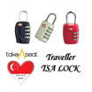 Travel Luggage TSA Lock 3 or 4 number combination for sale