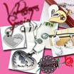 stainless steel pendant (LOVE series)