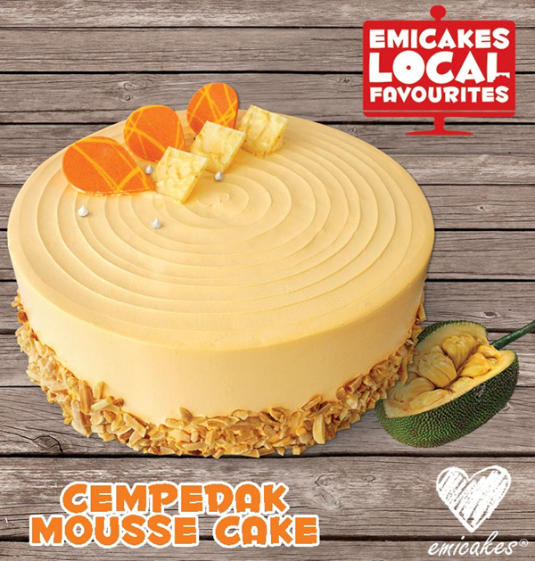 [Emicakes] Local Favourites! Cempedak Mousse and Premium Cempedak Cake  ?