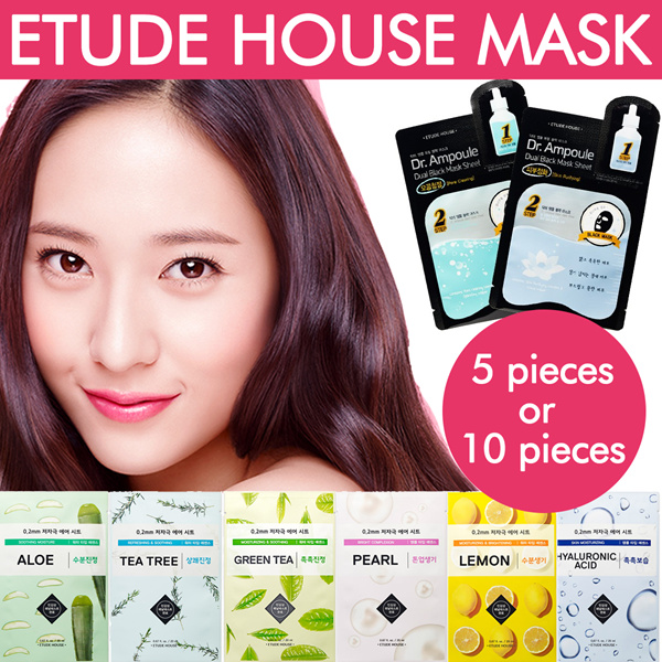 [ETUDE HOUSE] 0.2mm The Therapy Mask Sheet 15 Assorte Deals for only S$10 instead of S$0