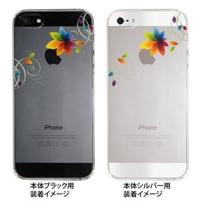 【iPhone5S】【iPhone5】【Clear Fashion】【iPhone5ケース】【カバー】【スマホケース】【クリアケース】【フラワー】 22-ip5-ca0030の画像