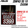 [MAKE $399!]ASUS ZenPad 3S 10 (Z500M) Hexa-Core 4GB RAM! / 9.7-inch Android Tablet [Z500M] 32GB / 8MP Rear / 5M